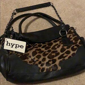 Black spotted bag